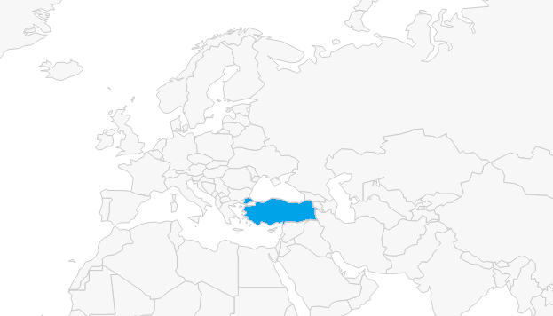 Email açılmalarının illere göre dağılımı (Türkiye)